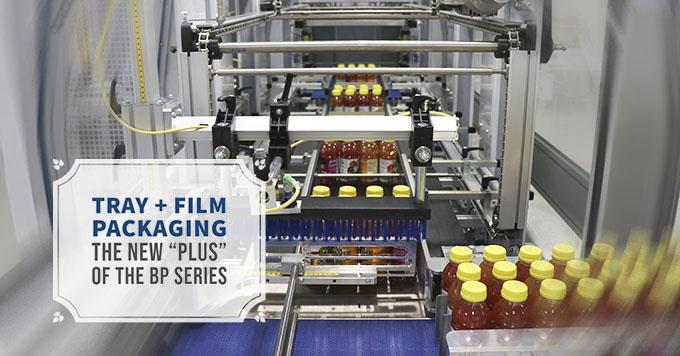 Empaquetado con bandeja + film, el nuevo plus de la serie BP