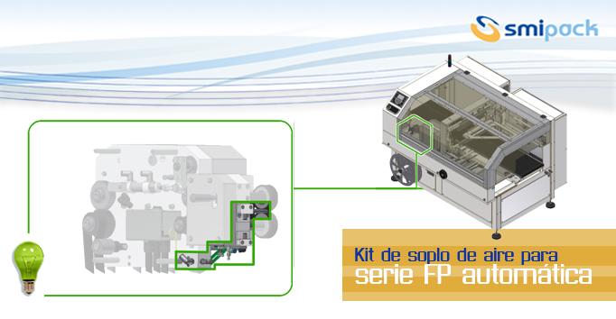 Sistema de soplado para empaquetadoras serie FP