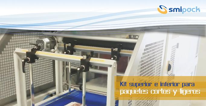 Kit superior e inferior para paquetes cortos y ligeros